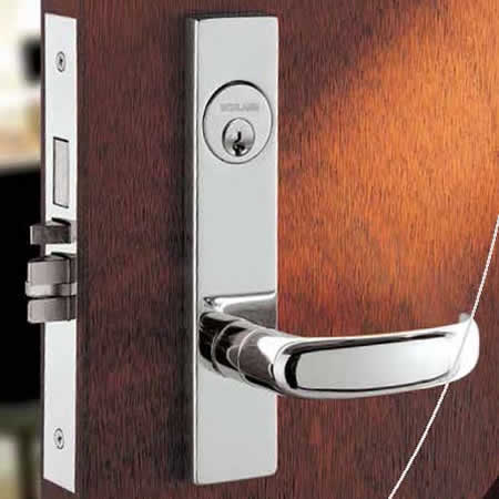 Schlage Commercial L-Series Mortise Lock - 17 Lever & Escutcheon