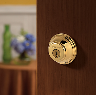 Baldwin Prestige Round (RDB) Single Cylinder Deadbolt