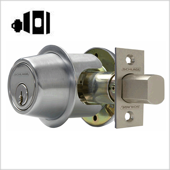 Schlage Commercial B561P One-Way Deadbolt
