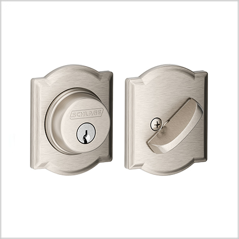 Schlage Camelot Single Cylinder Deadbolt