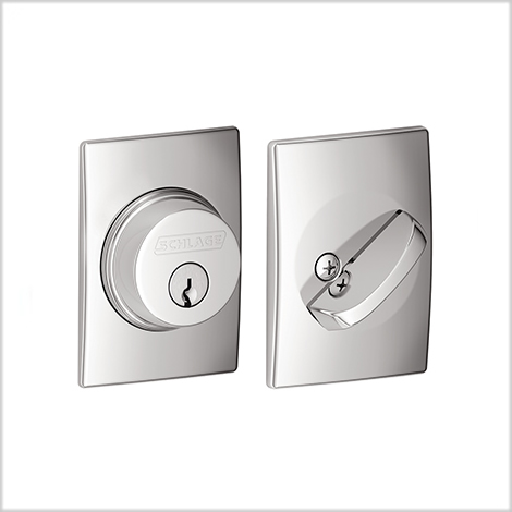 Schlage Century Single Cylinder Deadbolt