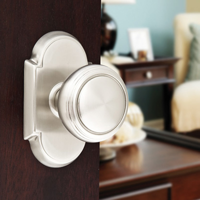 Emtek Brass Norwich Door Knob (NW)