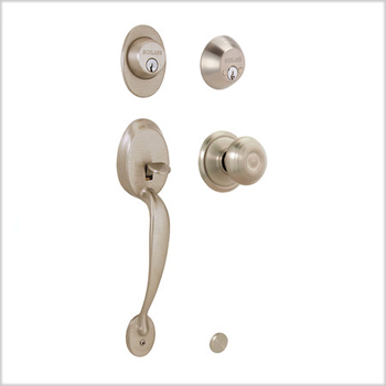 Schlage Plymouth (PLY) Double Cylinder Handleset