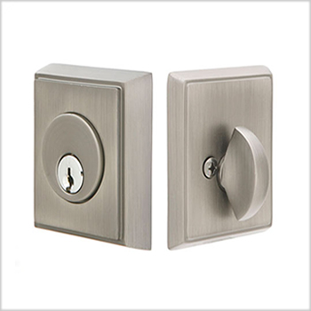 Emtek Brass Rectangular Deadbolt