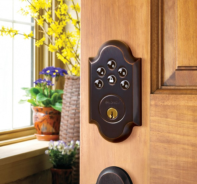 Baldwin Estate Boulder Keypad Deadbolt (8252xxxAC1)