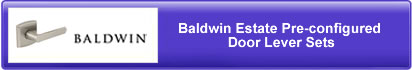 Baldwin Est. PreConfigured Lever