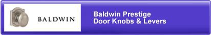 Baldwin Prestige Door Knobs & Le