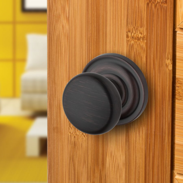 baldwin reserve round door knob rou - Baldwin Door Knobs