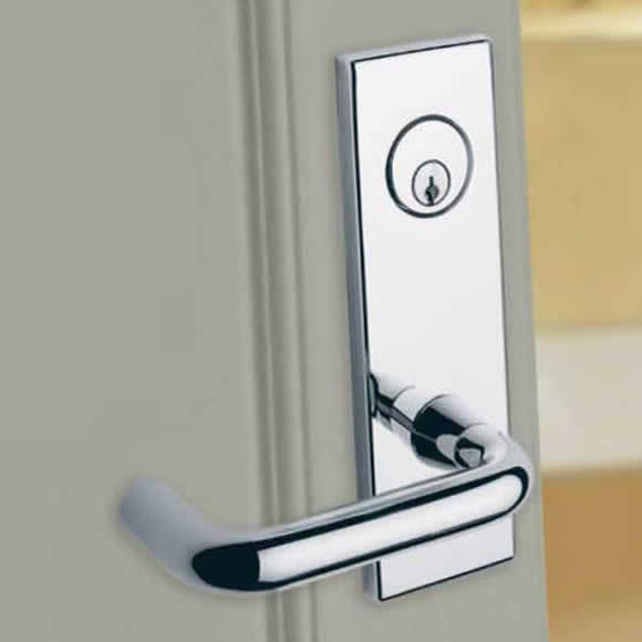 Schlage Commercial L-Series Mortise Lock - 03 Lever & Escutcheon