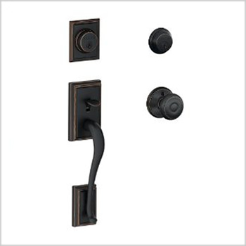 Schlage Addison (ADD) Double Cylinder Handleset