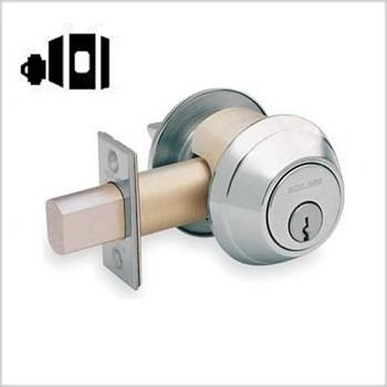 Schlage Commercial B661 One-way Deadbolt w/ Blank Plate
