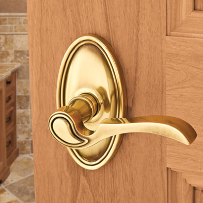 Emtek Brass Coventry Door Lever (CV)