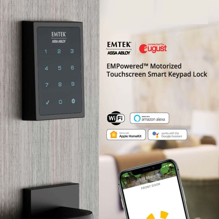 Emtek EMPowered Touchscreen Smart Deadbolt (EMP1101)