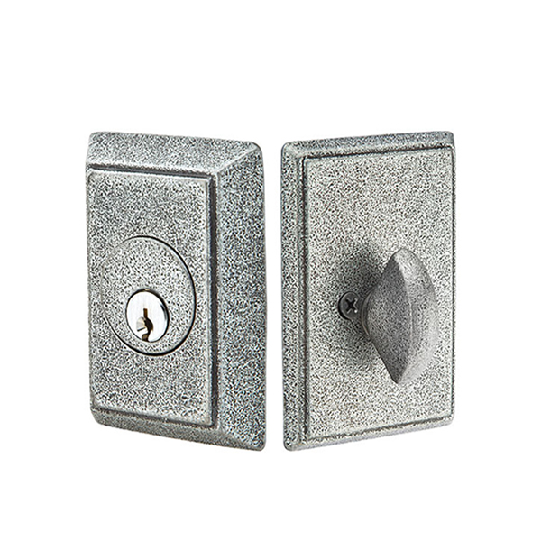 Emtek Wrought Steel #3 Style Deadbolt (8463/8363)