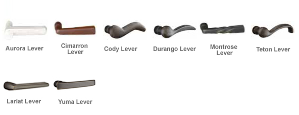 sand cast levers /& knobs