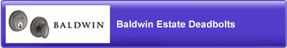 Baldwin Estate Deadbolts