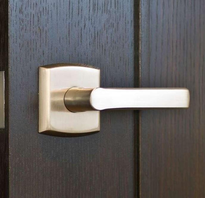 Baldwin Estate 5485v Soho Lever W R026 Rose 60 95 Elocksets Shop Door Knobs Door Levers Handlesets Baldwin Emtek Weslock Products